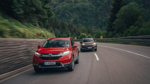 Afbeelding voor Introductie nieuwe Honda CR-V, vernieuwde Honda HR-V en Mazda CX-3