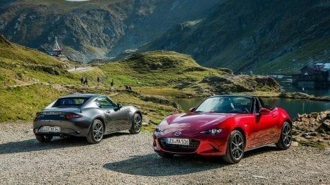 Afbeelding voor Vernieuwde Mazda MX-5 met meer vermogen