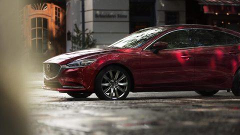 Afbeelding voor Vernieuwde Mazda6 scoort 5-sterren EuroNCAP