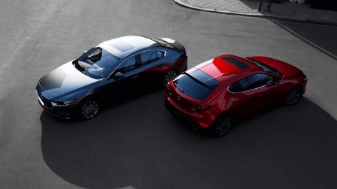 Afbeelding voor De nieuwe Mazda 3 onthuld op Los Angeles Auto Show 2018