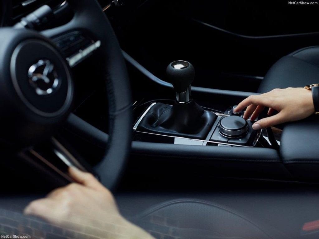 Mazda3 rijden