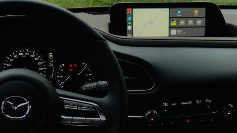 Afbeelding voor Apple CarPlay in uw Mazda